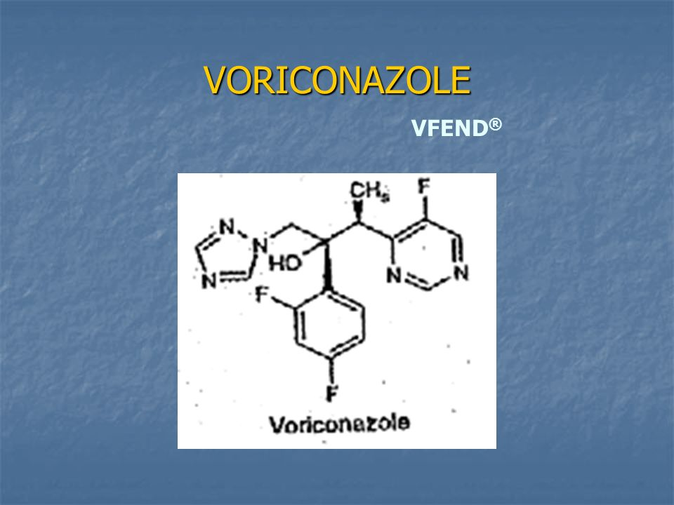 VORICONAZOLE VFEND®