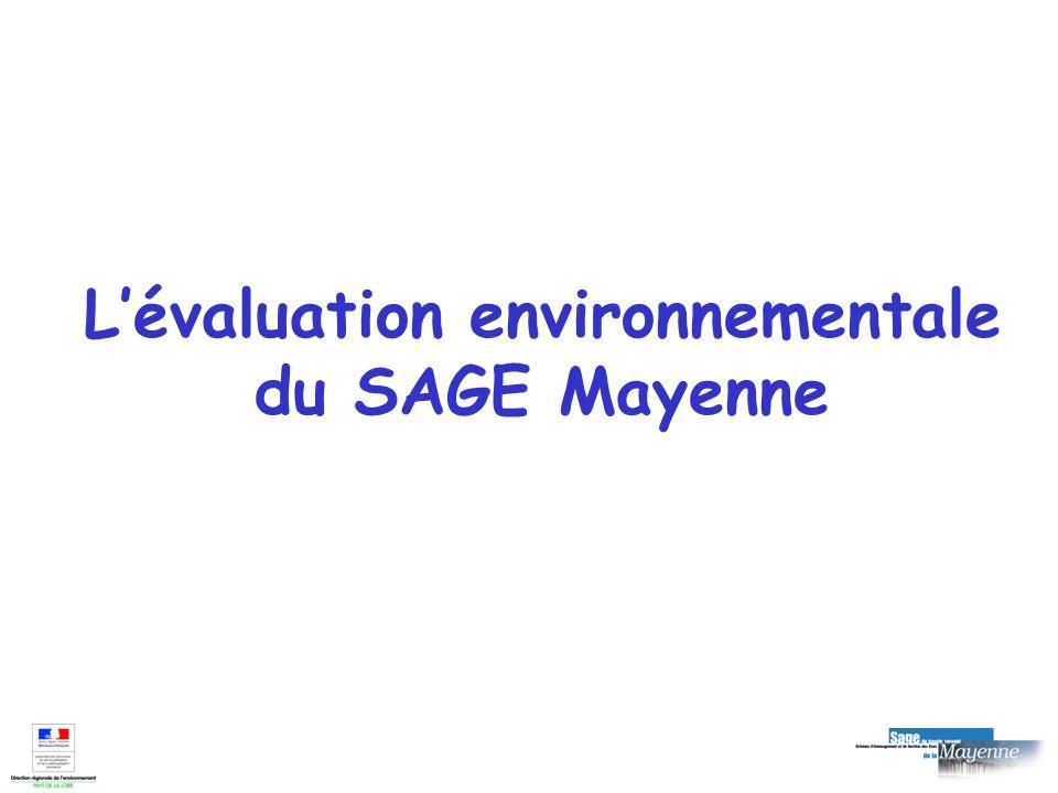 L'évaluation environnementale du SAGE Mayenne