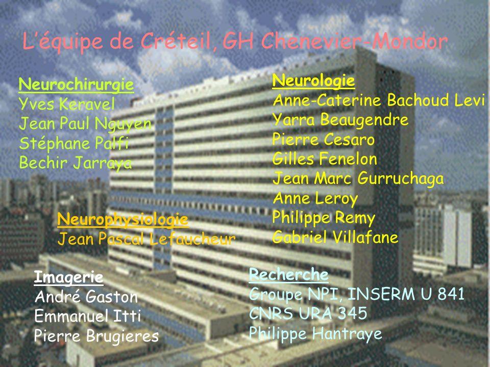 L'équipe de Créteil, GH Chenevier-Mondor