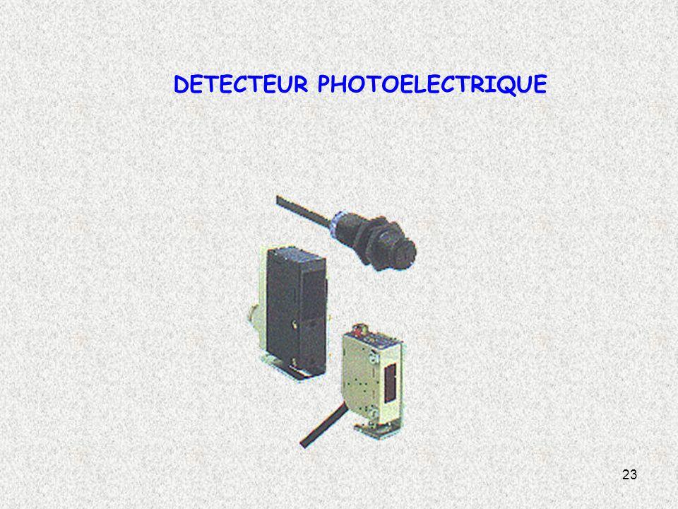 DETECTEUR PHOTOELECTRIQUE