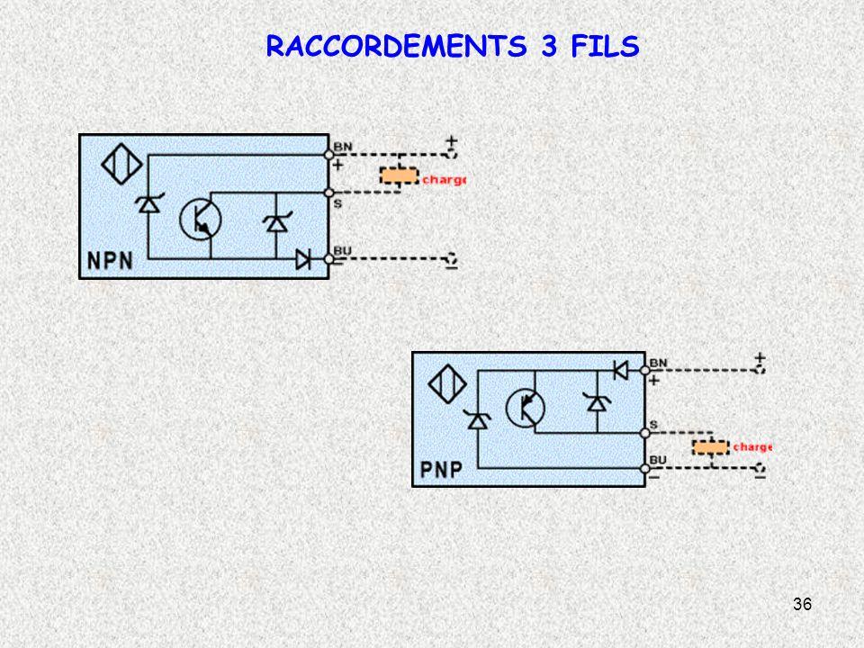 RACCORDEMENTS 3 FILS