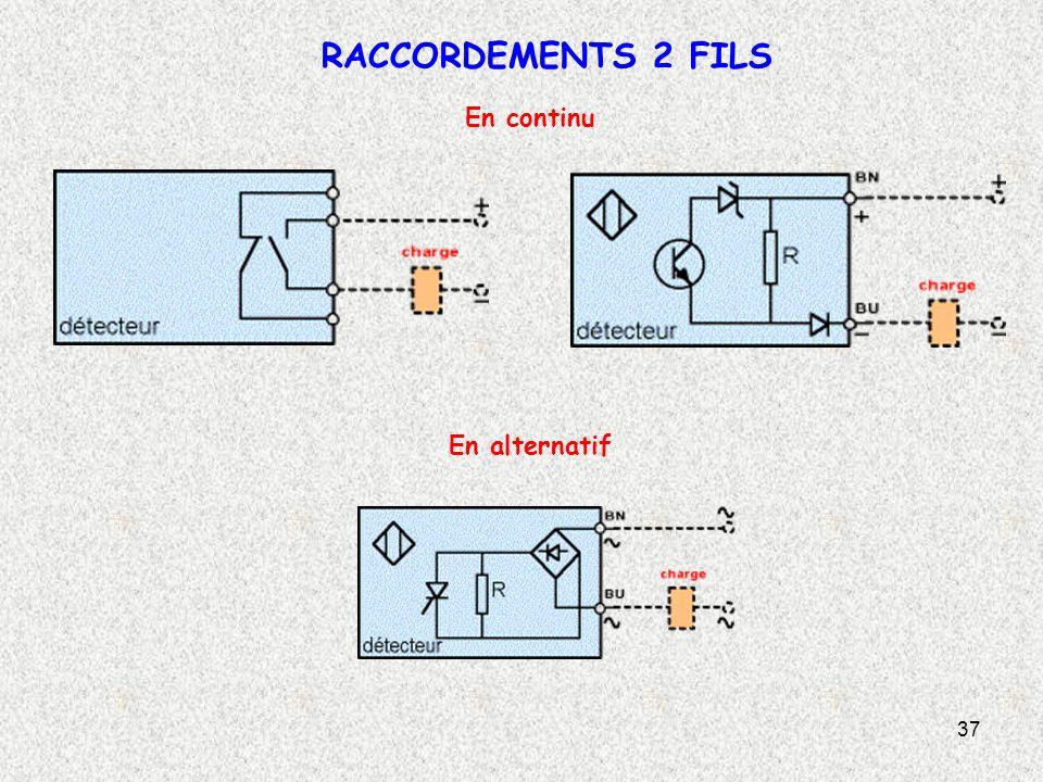 RACCORDEMENTS 2 FILS En continu En alternatif