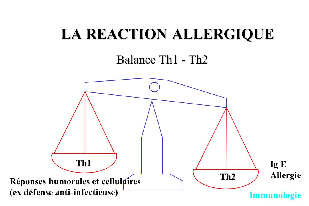LA REACTION ALLERGIQUE