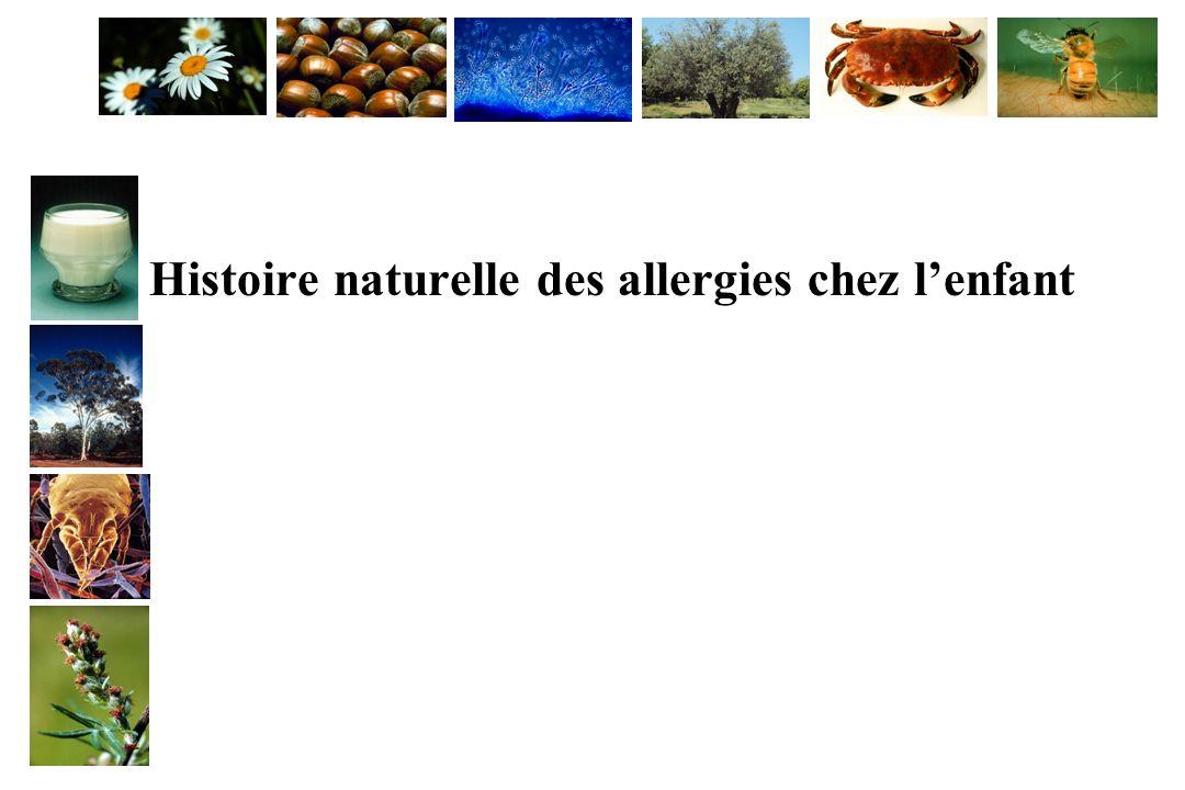Histoire naturelle des allergies chez l'enfant