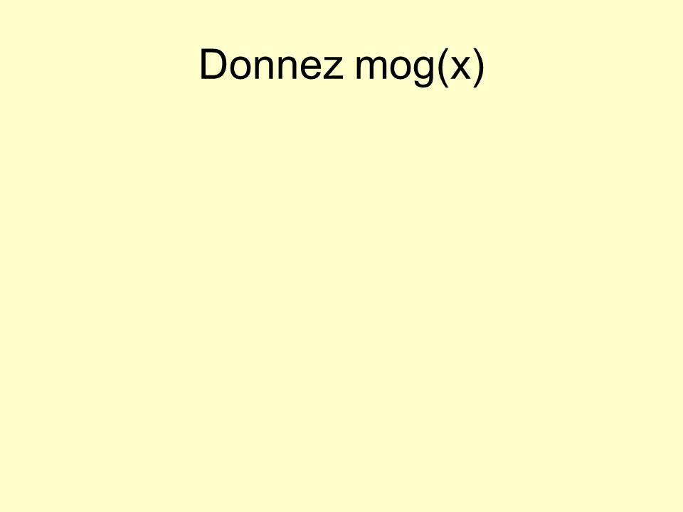 Donnez mog(x)