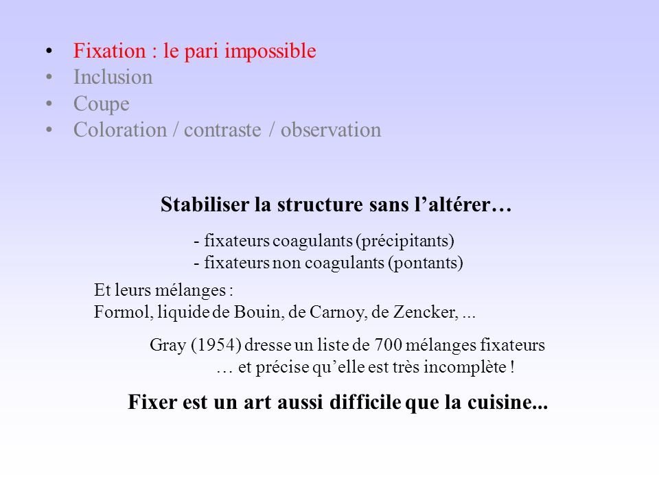 Fixation : le pari impossible Inclusion Coupe