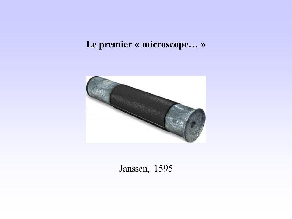 Le premier « microscope… »