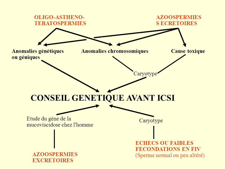 CONSEIL GENETIQUE AVANT ICSI