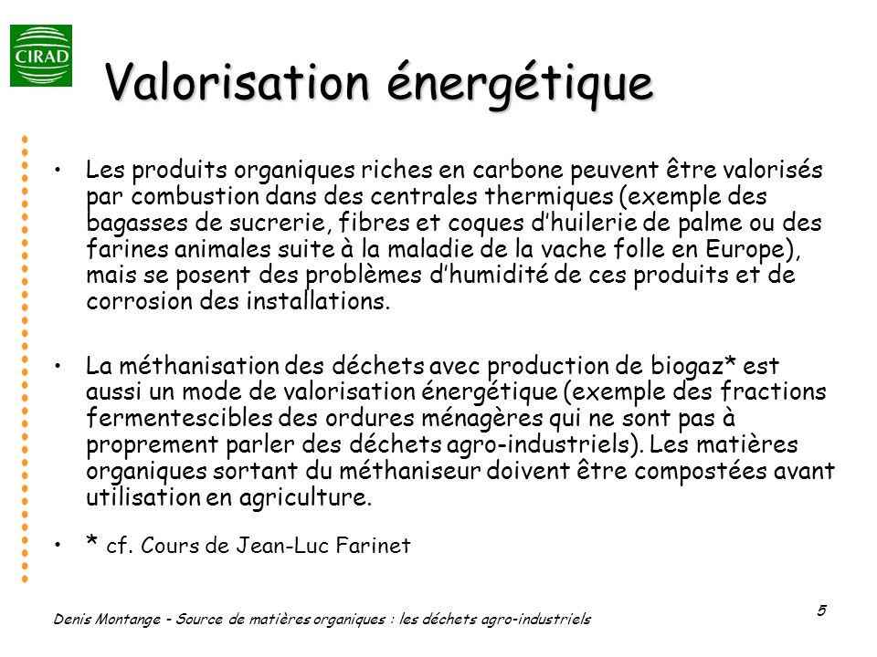Valorisation énergétique