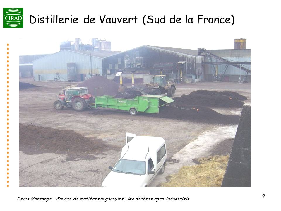 Distillerie de Vauvert (Sud de la France)