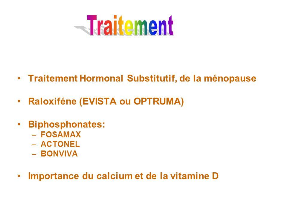 Traitement Traitement Hormonal Substitutif, de la ménopause