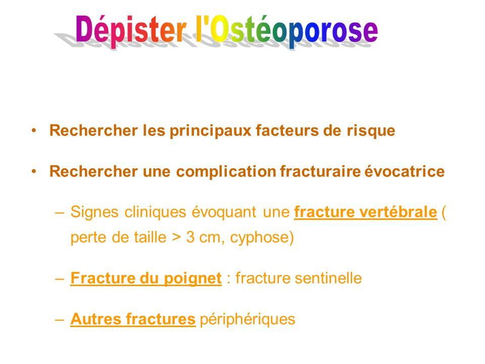 Dépister l Ostéoporose
