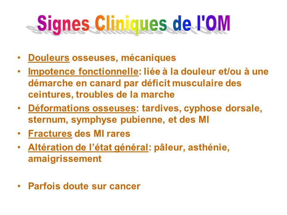 Signes Cliniques de l OM