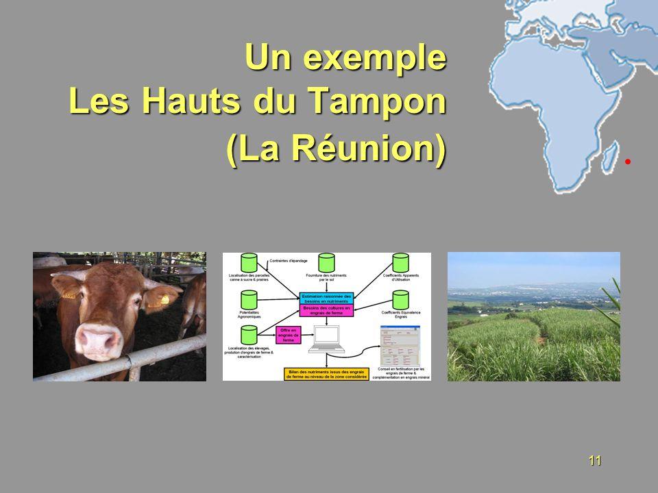 Un exemple Les Hauts du Tampon (La Réunion)