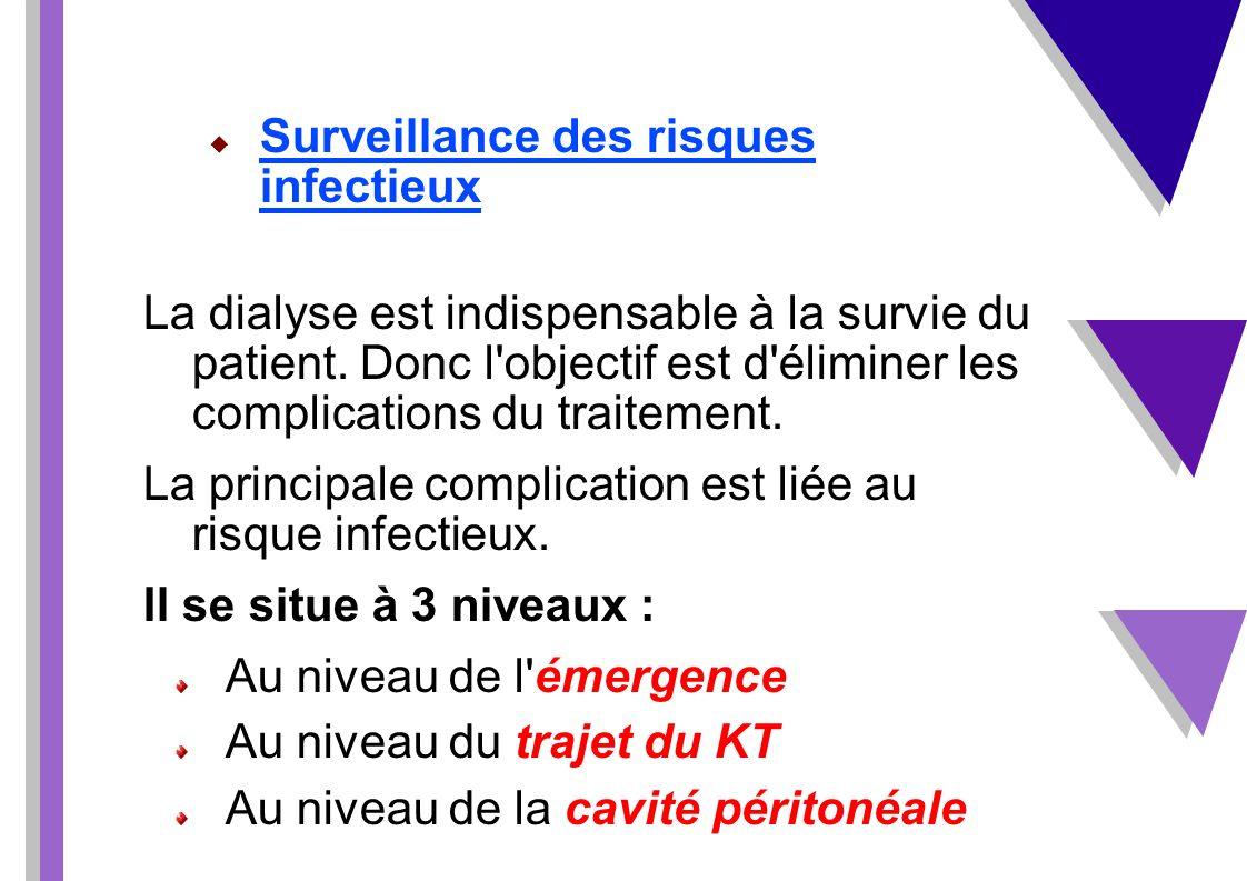 Surveillance des risques infectieux