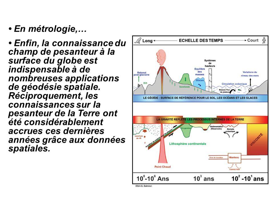 • En métrologie,…