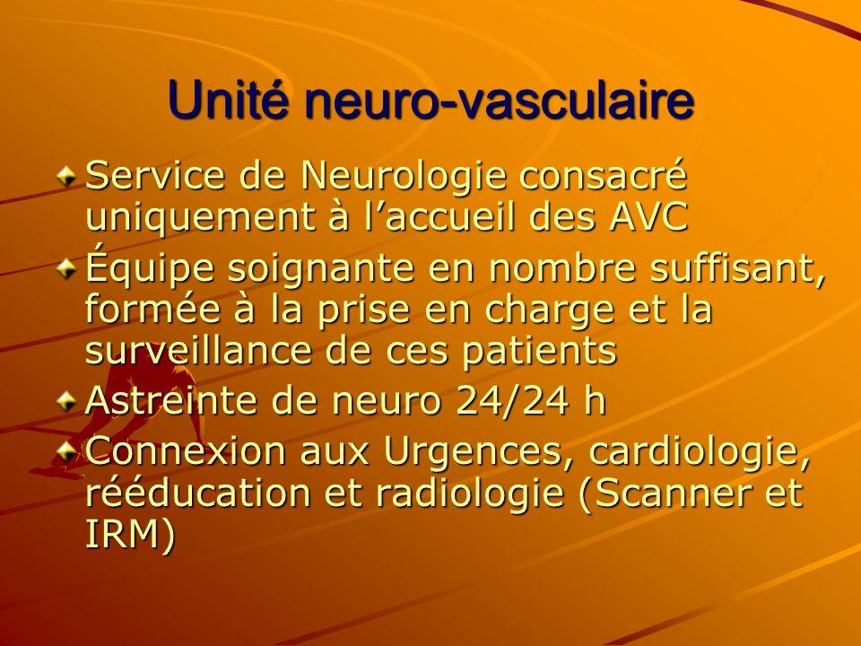 Unité neuro-vasculaire