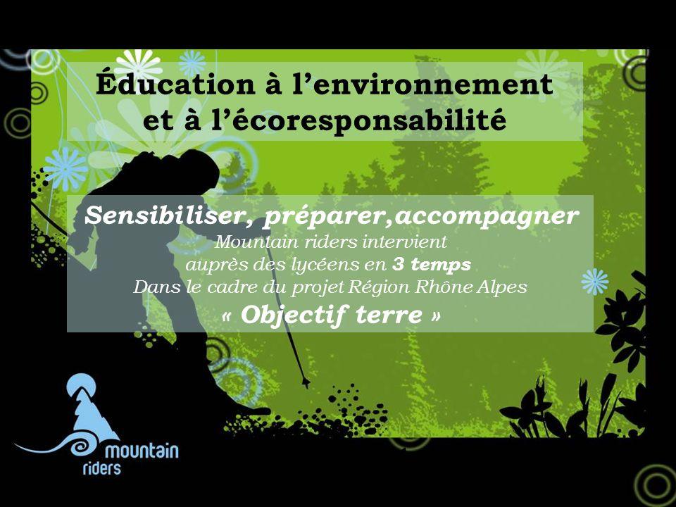 Éducation à l'environnement et à l'écoresponsabilité