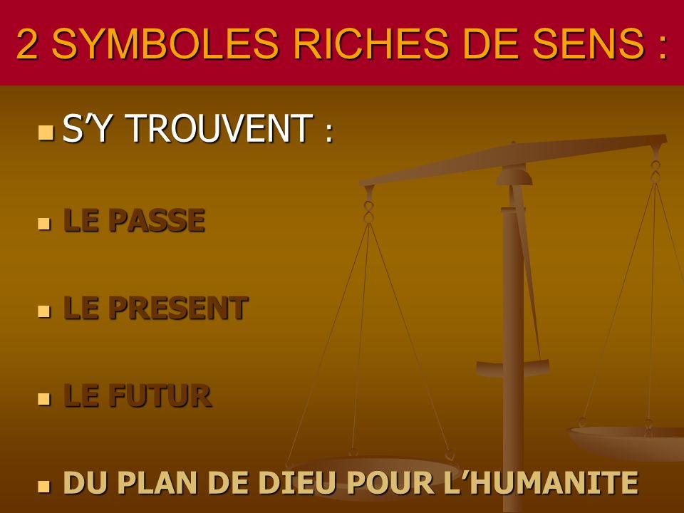 2 SYMBOLES RICHES DE SENS :