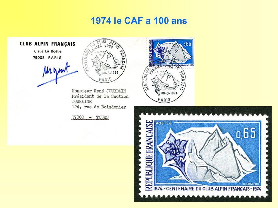 1974 le CAF a 100 ans