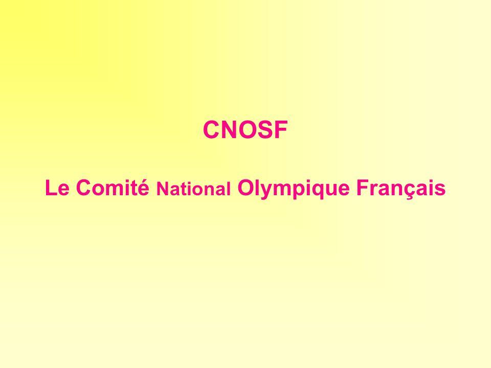 Le Comité National Olympique Français