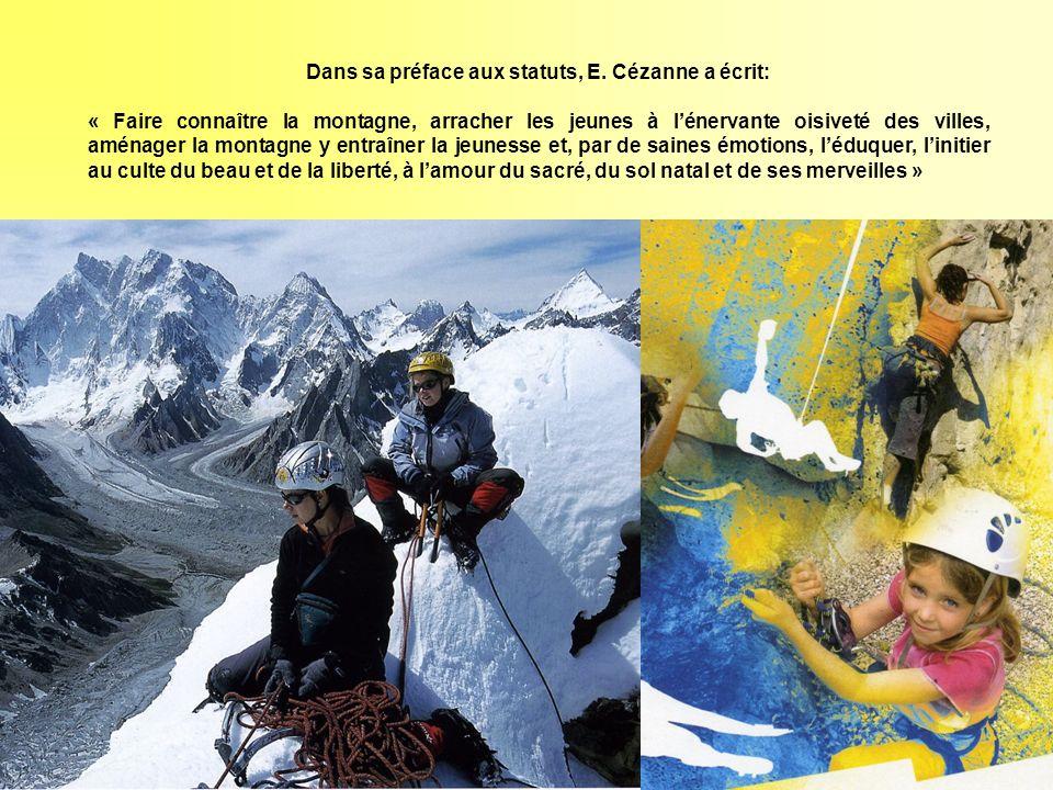 Dans sa préface aux statuts, E. Cézanne a écrit: