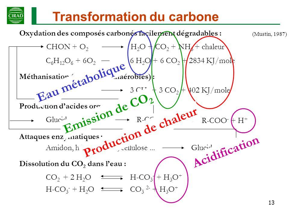 Transformation du carbone