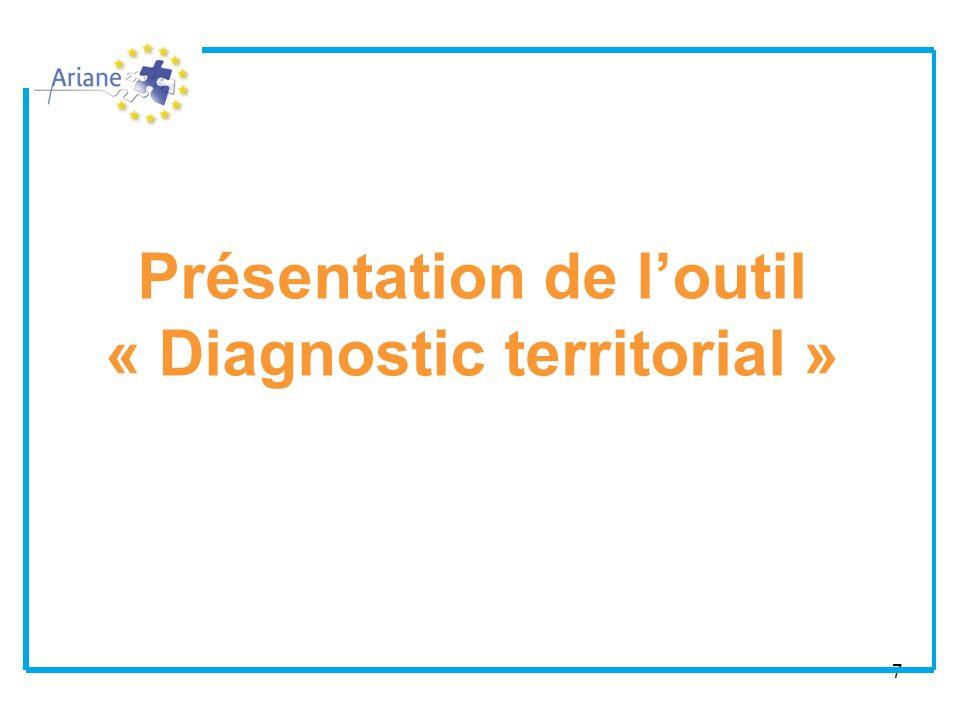 Présentation de l'outil « Diagnostic territorial »