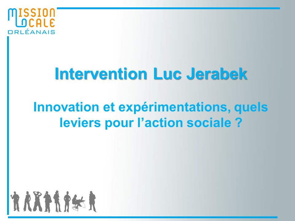 Intervention Luc Jerabek