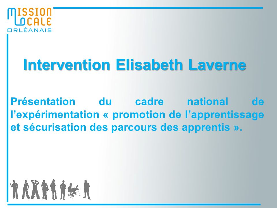 Intervention Elisabeth Laverne