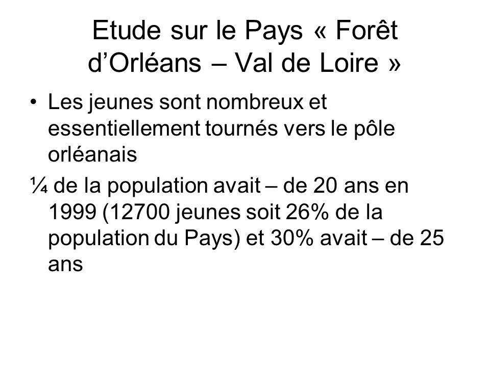 Etude sur le Pays « Forêt d'Orléans – Val de Loire »