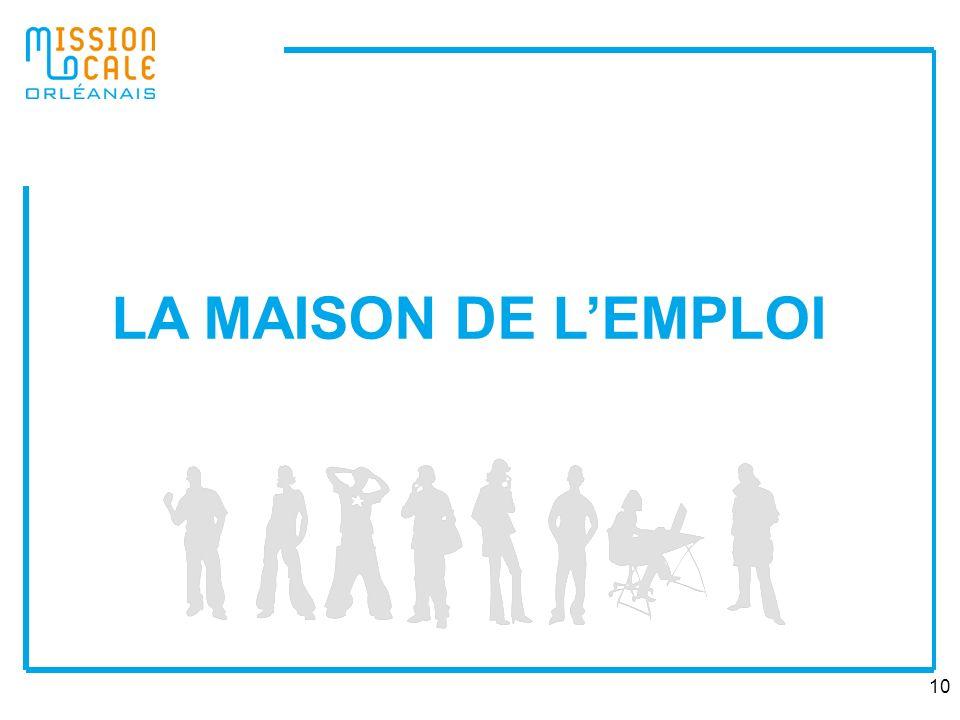 LA MAISON DE L'EMPLOI