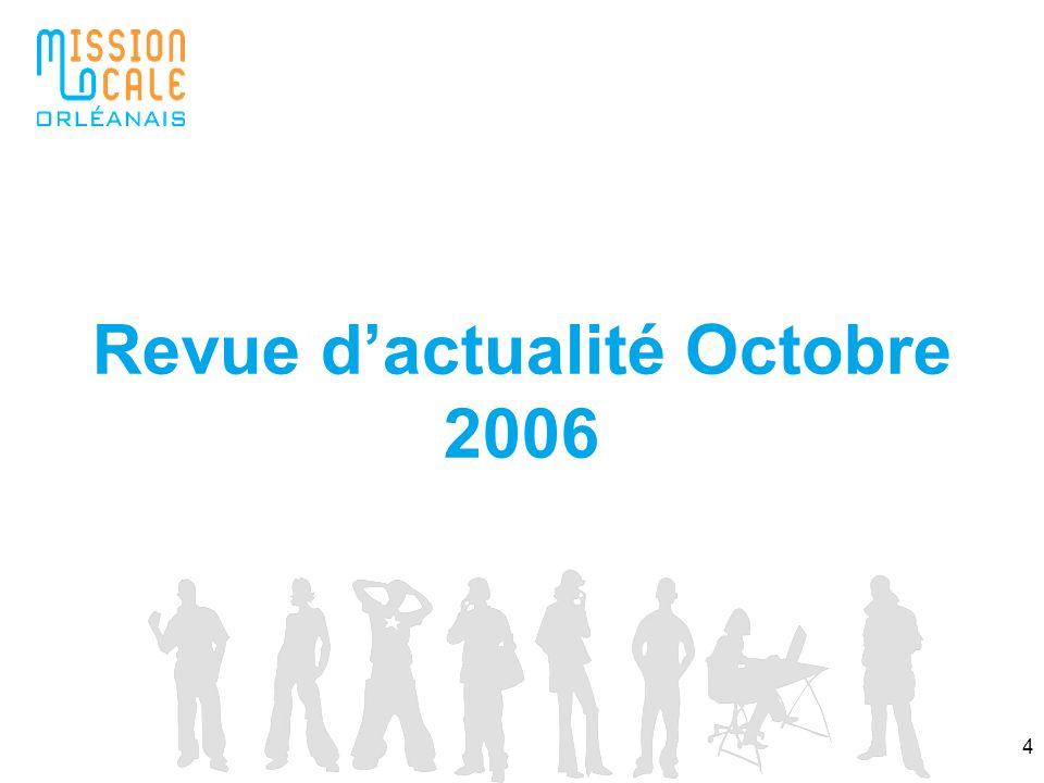 Revue d'actualité Octobre 2006