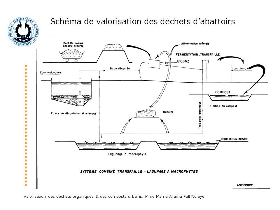 Schéma de valorisation des déchets d'abattoirs