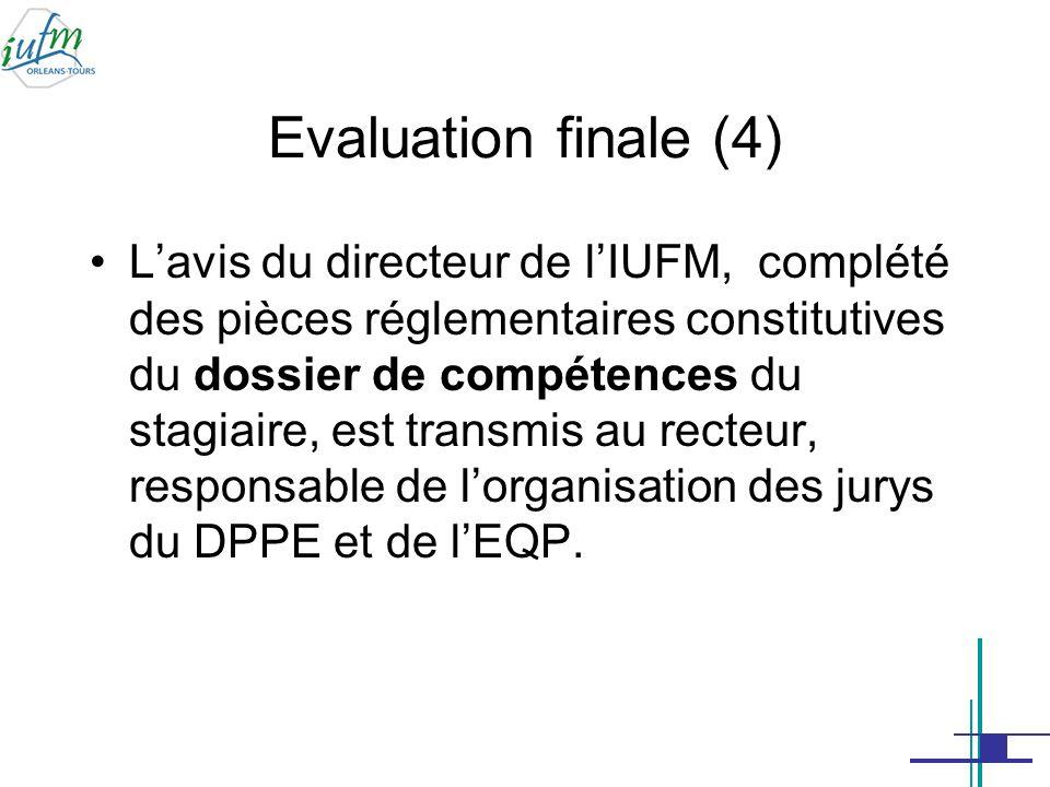 Evaluation finale (4)