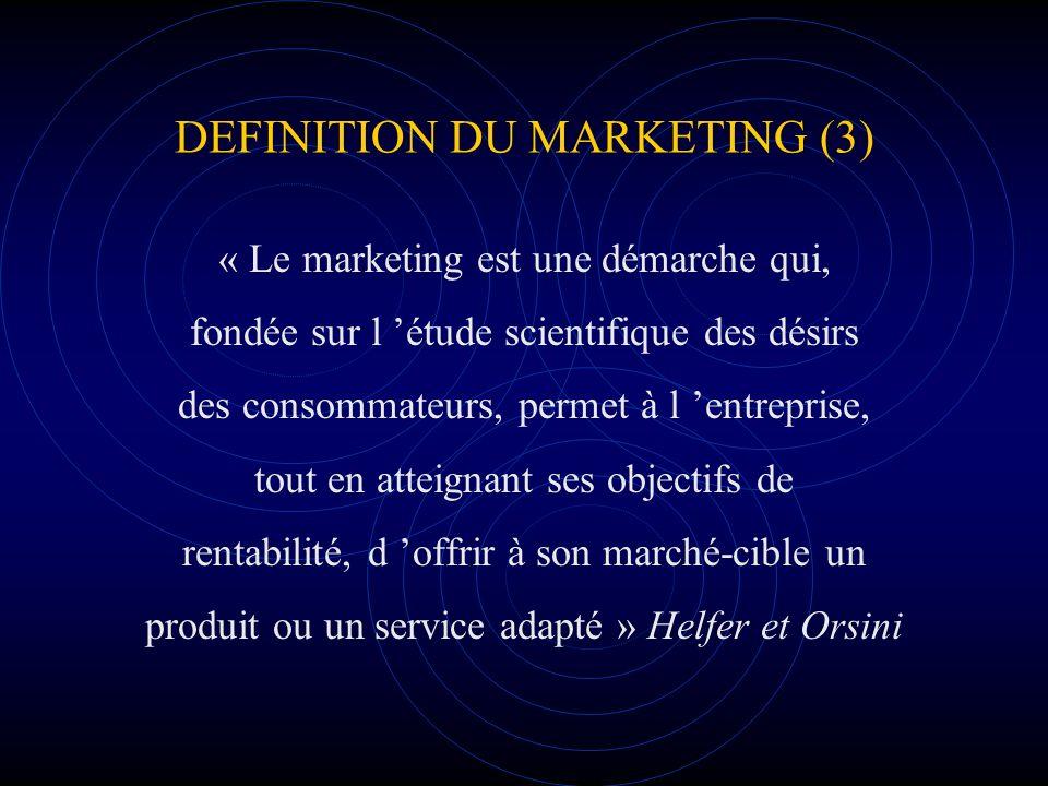 DEFINITION DU MARKETING (3)