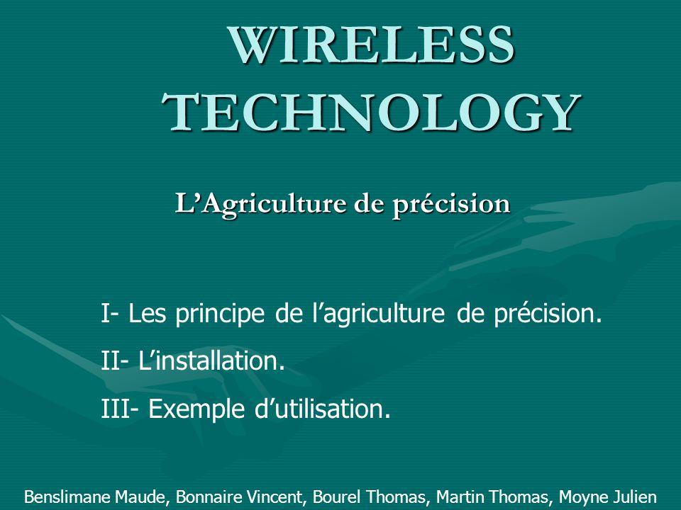 L'Agriculture de précision