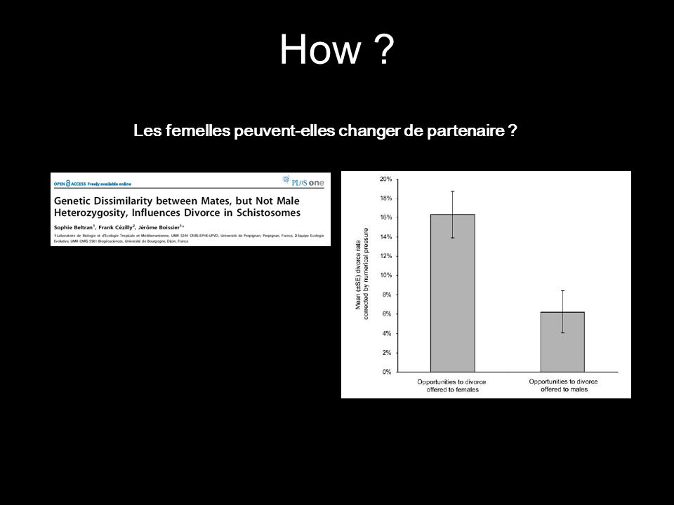 How Les femelles peuvent-elles changer de partenaire