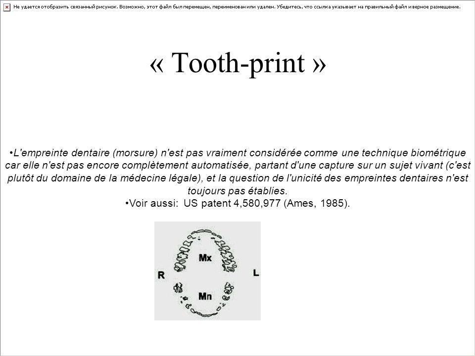 Voir aussi: US patent 4,580,977 (Ames, 1985).