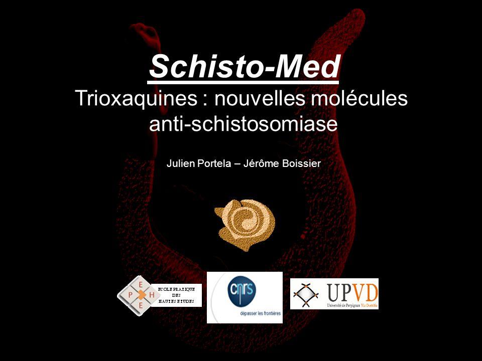 Trioxaquines : nouvelles molécules