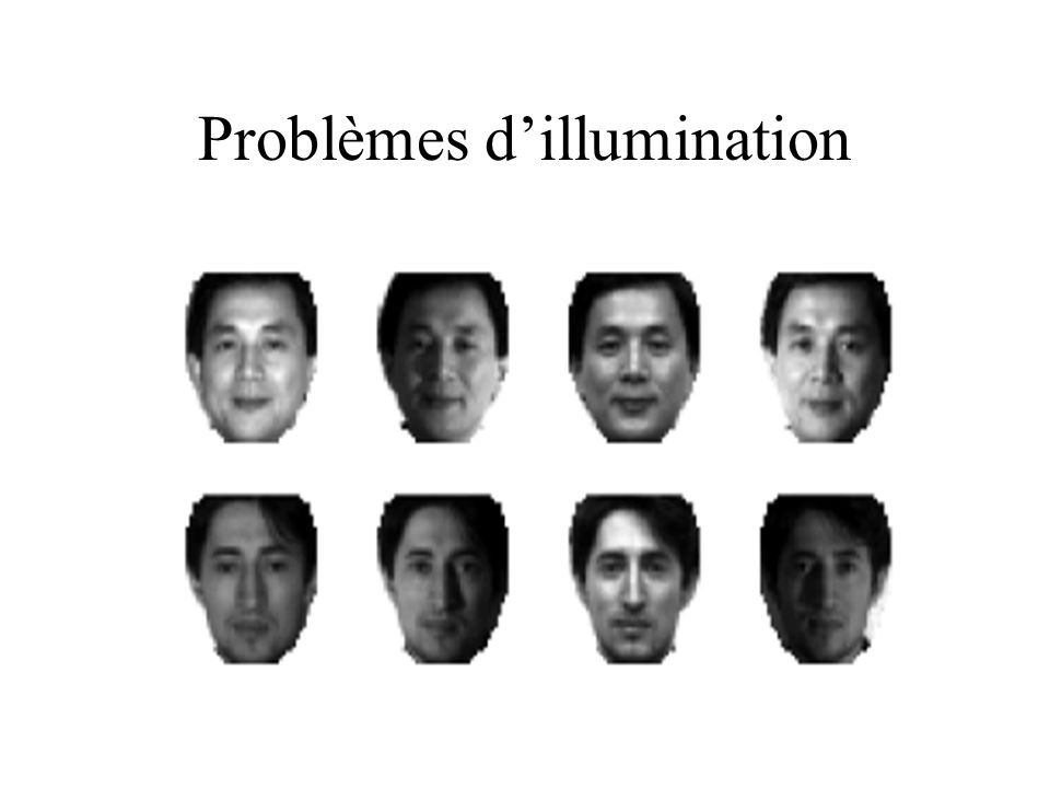 Problèmes d'illumination