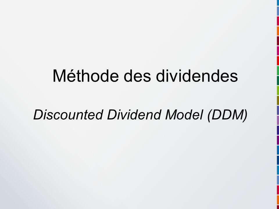Méthode des dividendes