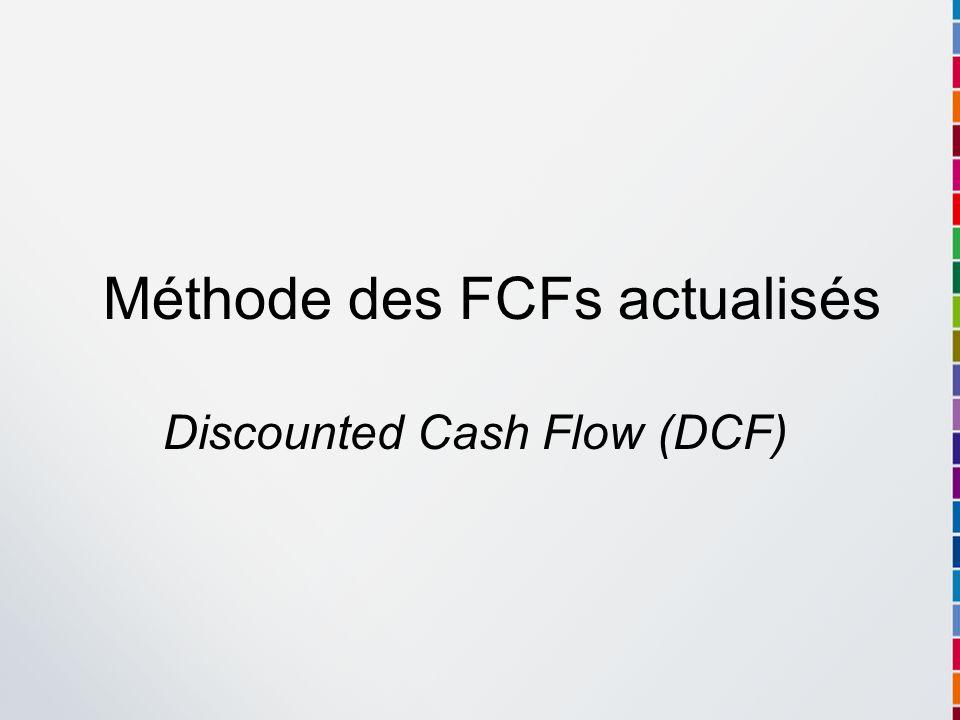 Méthode des FCFs actualisés