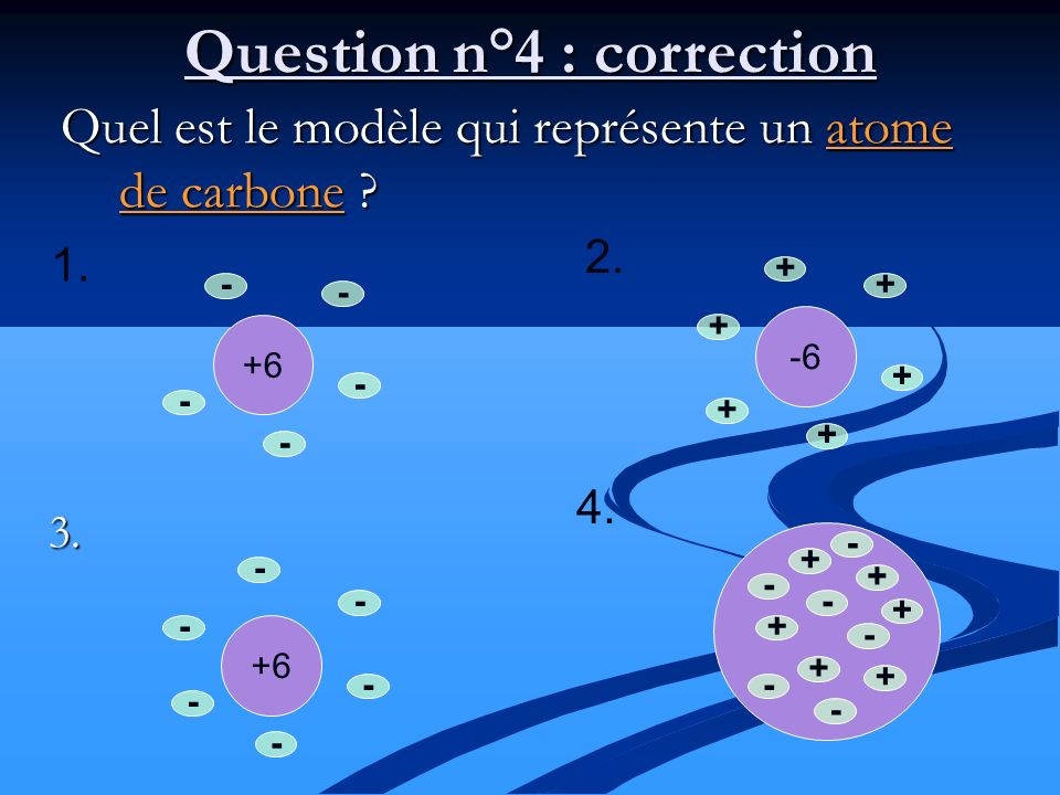 Question n°4 : correction