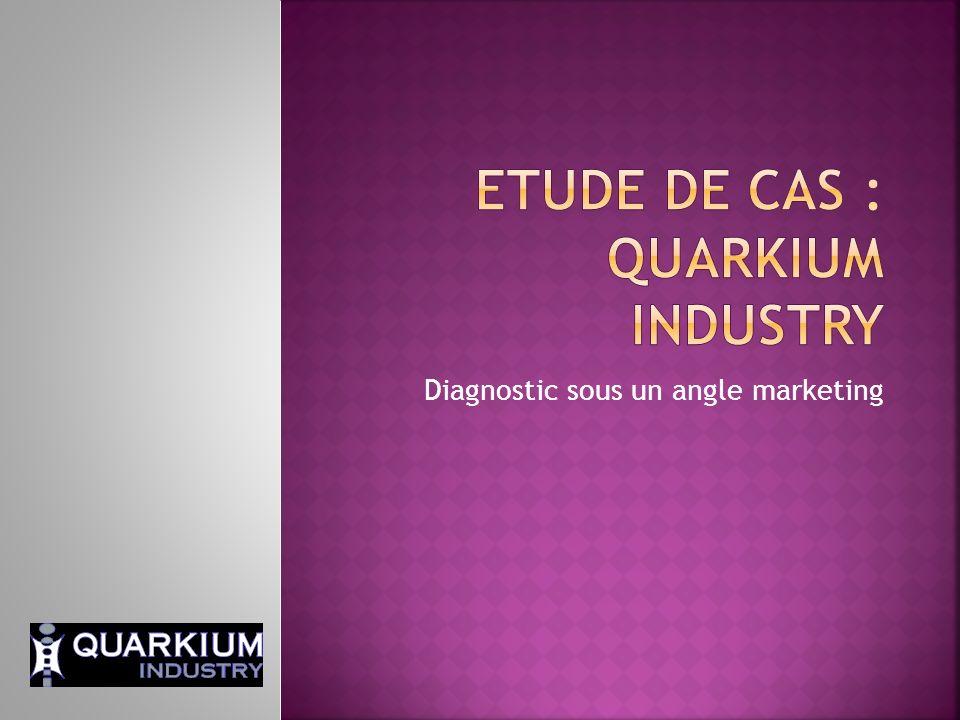 Etude de cas : Quarkium Industry