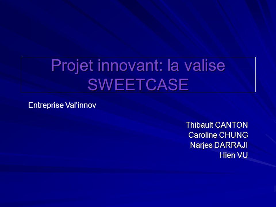 Projet innovant: la valise SWEETCASE