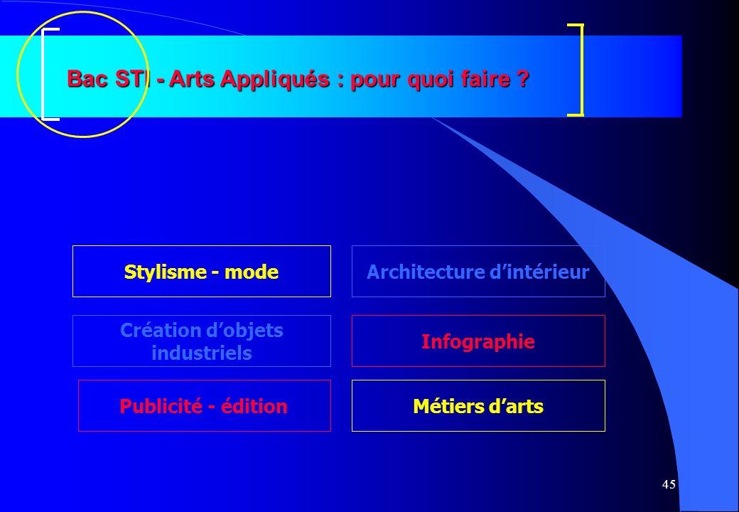 Bac STI - Arts Appliqués : pour quoi faire Architecture d'intérieur