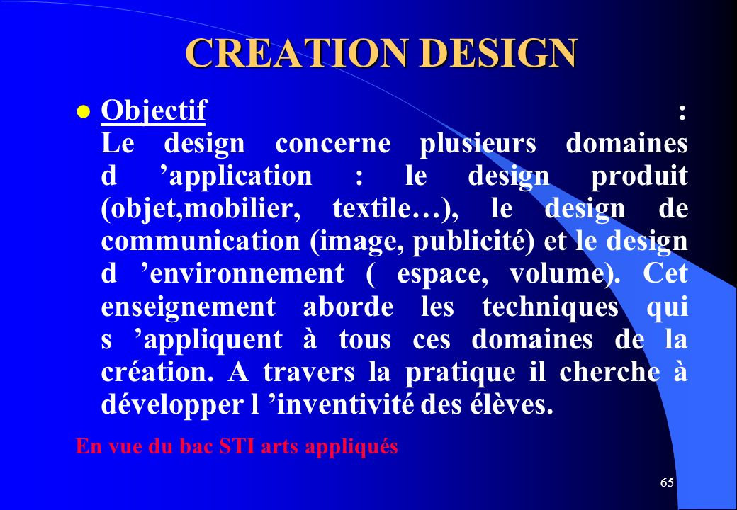 CREATION DESIGN