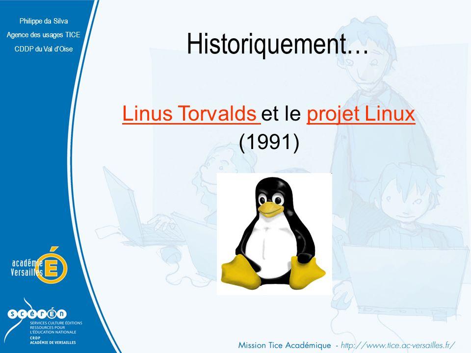 Linus Torvalds et le projet Linux (1991)