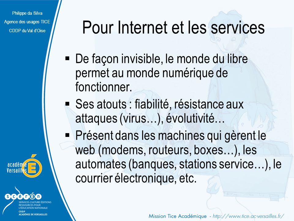 Pour Internet et les services